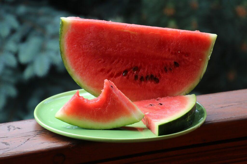 arbuz - owoce do biura